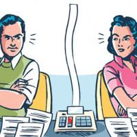 Долги при разводе — как делятся?