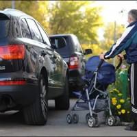 Виды и размеры штрафов за парковку на тротуаре