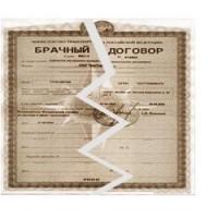 Расторжение брачного договора (контракта)