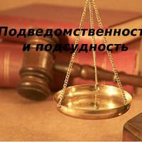 Понятие и виды подсудности уголовных дел