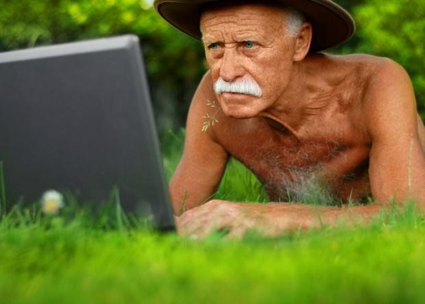 Пенсионер онлайн