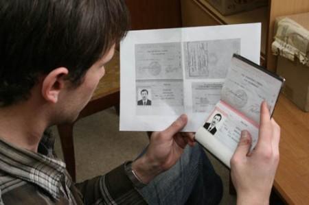 документы и заявление на замен паспорта