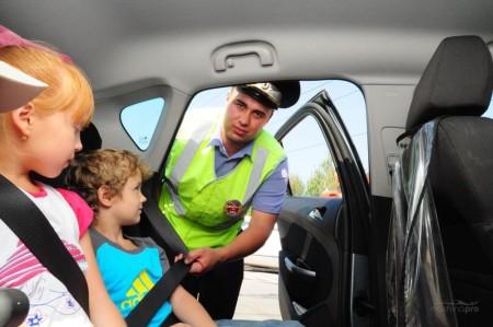 как перевозить детей