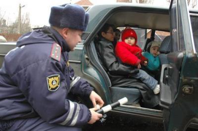 ответсвенность за нарушение правил по перевозке детей