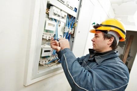 работы по замене электросчетчика