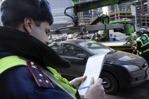 порядок и правила эвакуации автомобиля