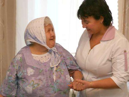 патронаж над престарелыми людьми